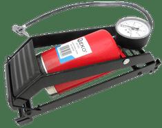 GEKO Hustilka nožní s manometrem jednopístová, 80 x 130 mm