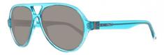 Gant okulary przeciwsłoneczne męskie, turkusowe