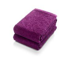 Möve Frottana Set 2 ručníků 50 x 100 cm, fialová