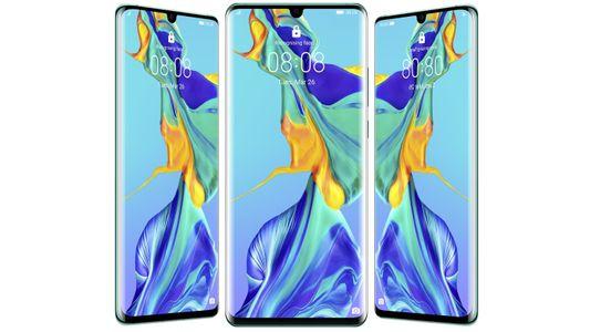 Huawei P30 Pro, duży wyświetlacz, FHD+, duża rozdzielczość.