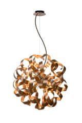 LUCIDE ATOMA Pendat LED 12x G9/4W D60cm Copper