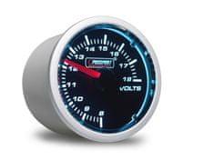 Prosport Performance přídavný ukazatel voltmetr s kouřovým překrytím