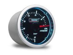 Prosport Performance přídavný ukazatel tlaku oleje 0-7 bar s kouřovým překrytím