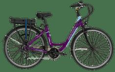 Lovelec Městské elektrokolo Capella Violet/Blue (16 Ah)