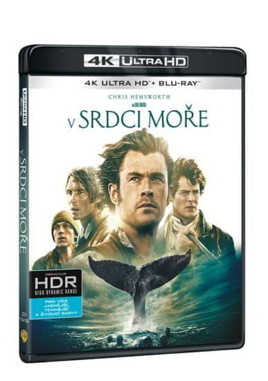 V srdci moře (2 disky) - Blu-ray + 4K Ultra HD)