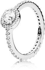 Pandora Bleščeče srebrni prstan 190946CZ srebro 925/1000