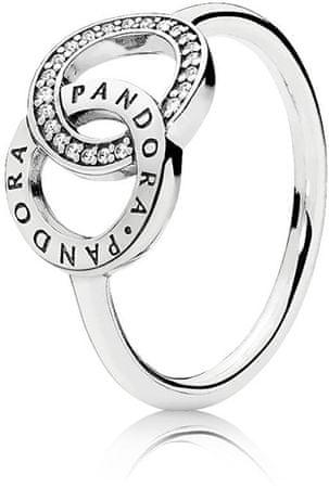 Pandora Stříbrný prsten 196326CZ (Obvod 54 mm) stříbro 925/1000