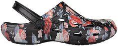 Coqui Dámské pantofle Tina Printed Black Roses 1353-205-2200