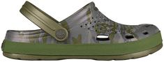 Coqui Pánske šľapky Lindo Army Green Camo 6403-203-2626