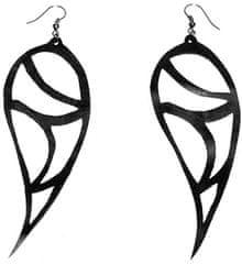 ARTcycleBALI Levél alakú fülbevalóGeo Natural EA_013 ezüst 925/1000