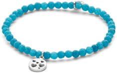 CO88 Modrý jadeitový náramek se srdíčky 865-180-090158-0000