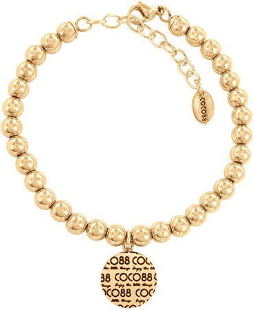 CO88 Ocelový korálkový náramek 860-180-014022-0000