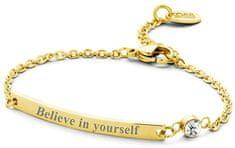CO88 Acél karkötő Believe in yourself 860-180-090139-0000