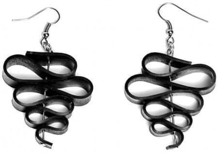 ARTcycleBALI Kolczyki z zakrętami Twist EA_005 srebro 925/1000