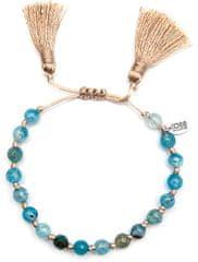 CO88 Bransoletka z niebieskiego agatu z chwostem 865-180-080036-0000