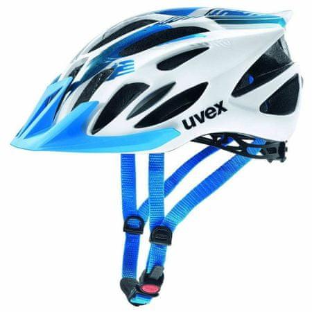 Uvex kaciga Uvex Flash, bijelo/plava, 53 - 56