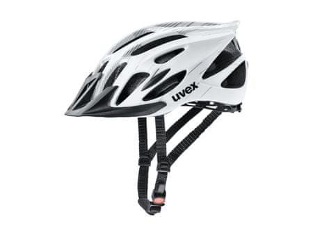 Uvex kaciga Uvex Flash, bijelo/crna, 53 - 56