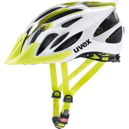 Uvex kaciga Uvex Flash, bijelo/zelena, 53 - 56