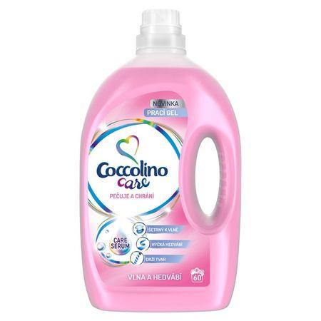Coccolino Care Silk & Wool pralni gel, 60 pranj