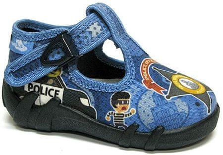 Ren But chlapčenské papučky 27 modrá