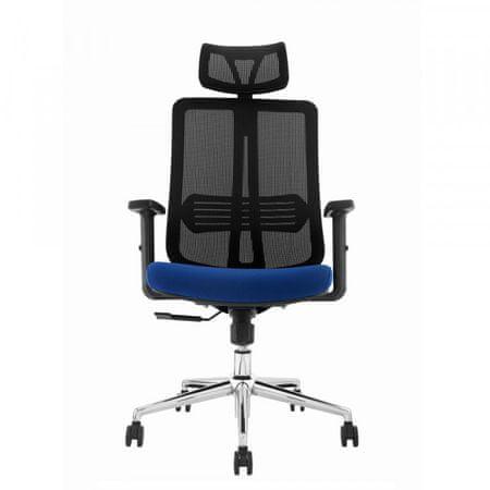 Uredska stolica Lavanda, plava/crna