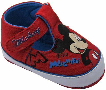 Disney by Arnetta chlapecké capáčky Mickey Mouse 15 červená