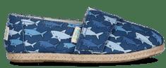PAEZ chłopięce tenisówki na rzep Print Sharks