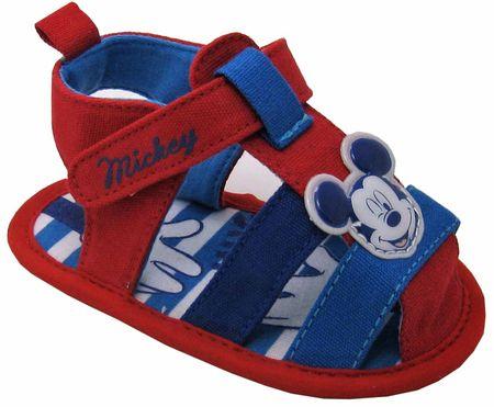 Disney by Arnetta chlapecké sandály Mickey Mouse 15 červená