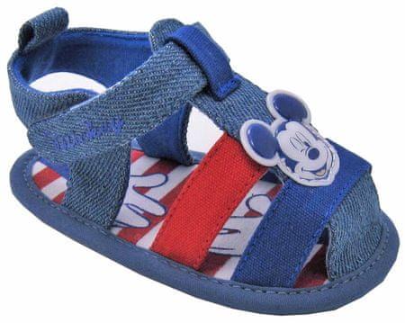 Disney by Arnetta sandały chłopięce Mickey Mouse 18 niebieskie