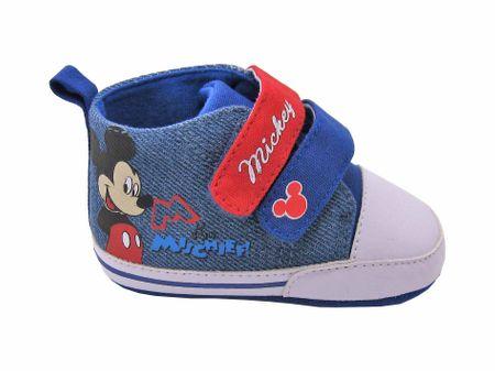 Disney by Arnetta Mickey Mouse fiú puha talpú tipegő 16 kék