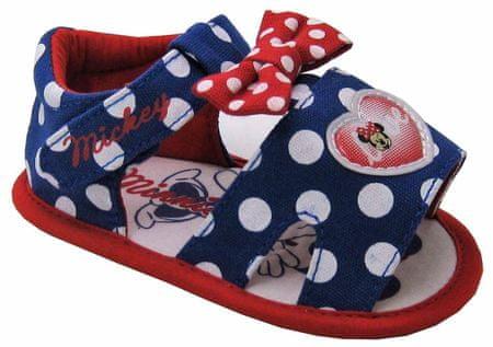 Disney by Arnetta dívčí sandály Minnie 15 modrá