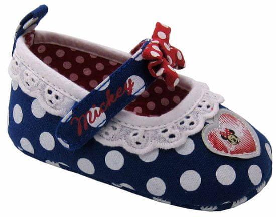 Disney by Arnetta dívčí capáčky Minnie 17 modrá