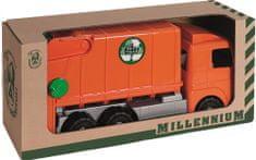 Androni śmieciarka Millennium, pomarańczowa