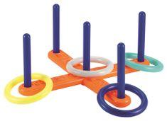 ECOIFFIER pierścienie do rzucania - krzyżyk (4 krążki)