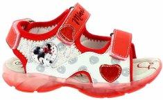 Disney by Arnetta dievčenské svietiace sandále Minnie