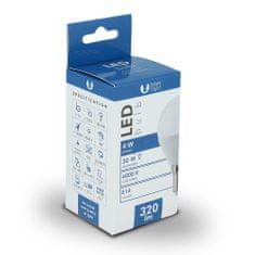 Forever LED žárovka G45 E14 4W studená bílá (6000K)