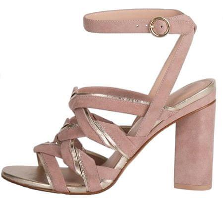 What For dámské sandály 37 světle růžová