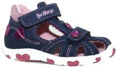 V+J dekliški sandali s srčki
