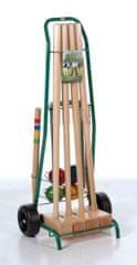 Lucio Londero Kroket Professional 10204 - pro 4 hráče - kovový vozík