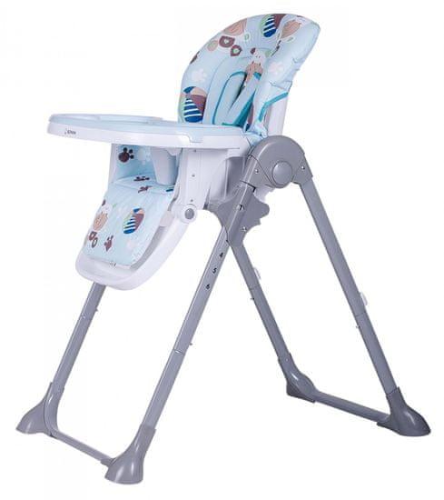 BOMIMI jídelní židle LARA Hippo, blue - rozbaleno