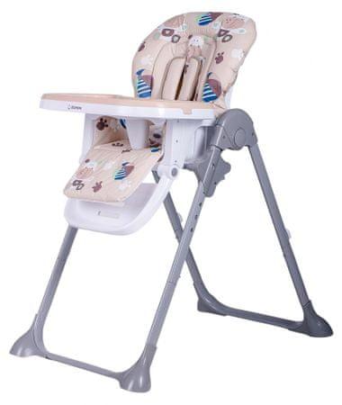 BOMIMI jídelní židle LARA Hippo, beige
