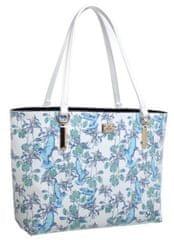 Bessie London ženska torbica, bijela