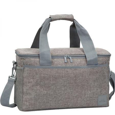 RivaCase hladilna torba 5726, 23L, za 24 x 0.5L pločevink, siva