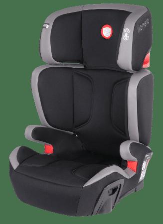 Lionelo Autósülés s ISOFIX 15- 36 Kg Hugo bőr szürke
