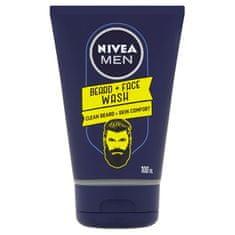 Nivea Čisticí gel na vousy Men (Beard + Face Wash) 100 ml