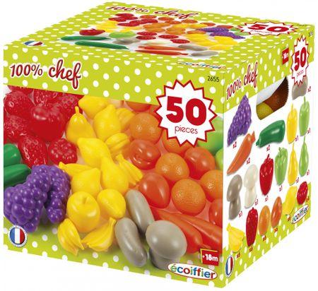 ECOIFFIER Gyümölcsök és zöldségek 50 db