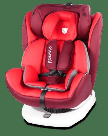 Lionelo Autósülés ISOFIX 0-36 kg BASTIAAN piros