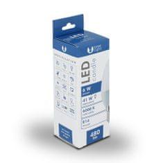 Forever LED žiarovka C37 E14 6W studená biela (6000K)