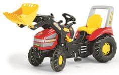 Rolly Toys Pedállal hajtható traktor X-Track markolóval