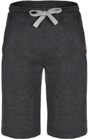 Loap moške kratke hlače Eceli, L, črno/sive